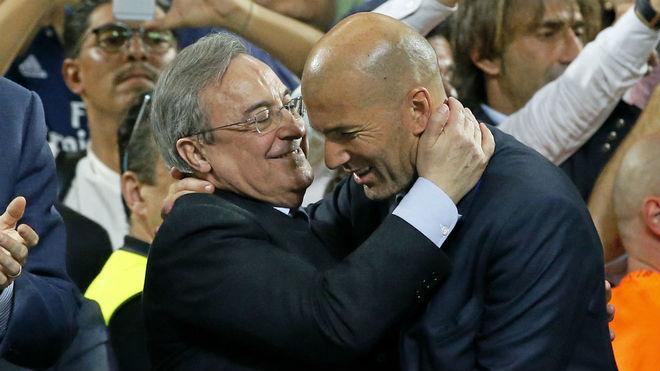 Zidane quyết định về tương lai tại Real Madrid