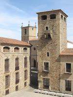 Palacio de los Golfines de Abajo; Cáceres; Extremadura; Vía de la Plata