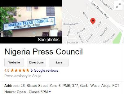 Nigerian Press Council Recruitment Form 2018 - NPC Application Guidelines