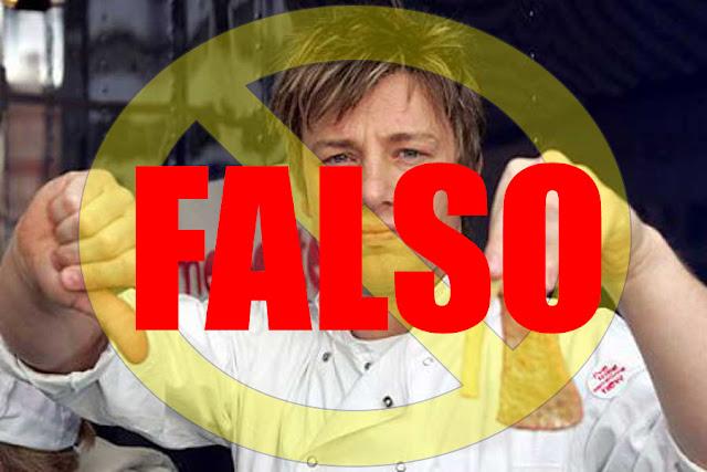 La falsa demanda de James Oliver contra Mc Donalds