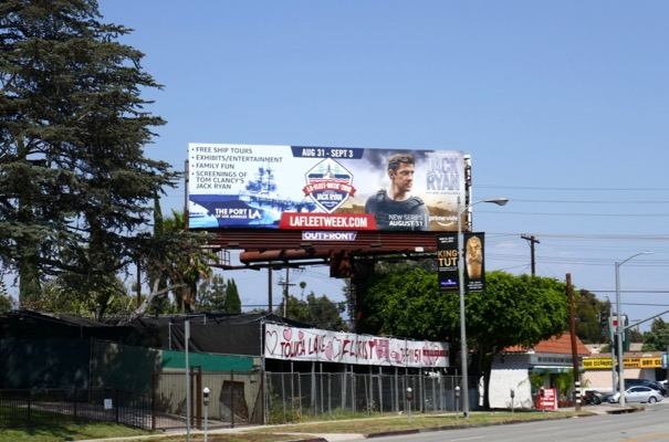LA Fleet Week Jack Ryan billboard