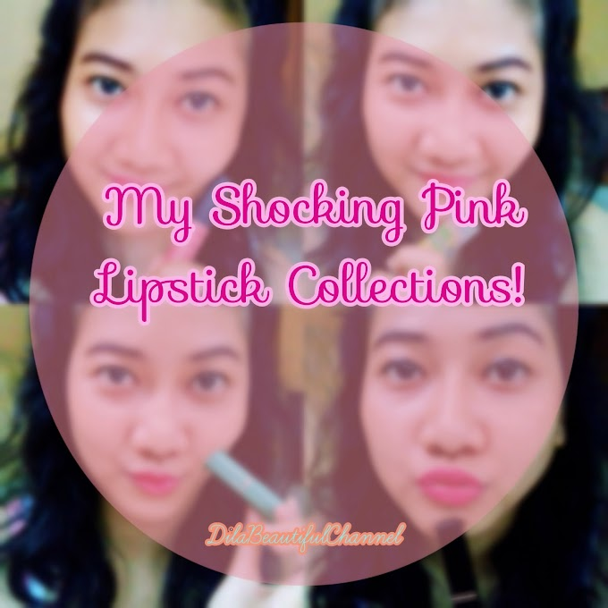 Lippie Addict: My Shocking Pink Lipstick Collections!