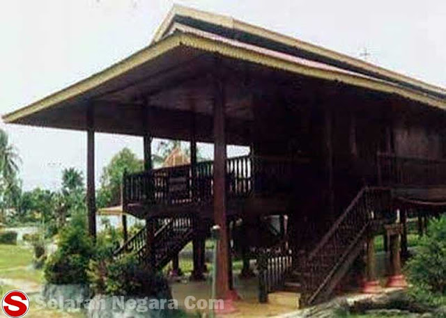 Gambar Rumah adat panggung Sulawesi Utara