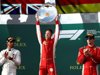 Spotlight : Sebastian Vettel Wins Australian Grand Prix