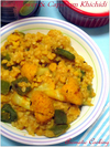 Cauliflower And Capsicum Khichdi