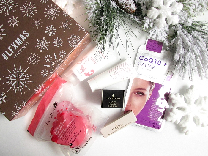 Unboxing: lookfantastic Beauty Box Dezember #LFXMAS