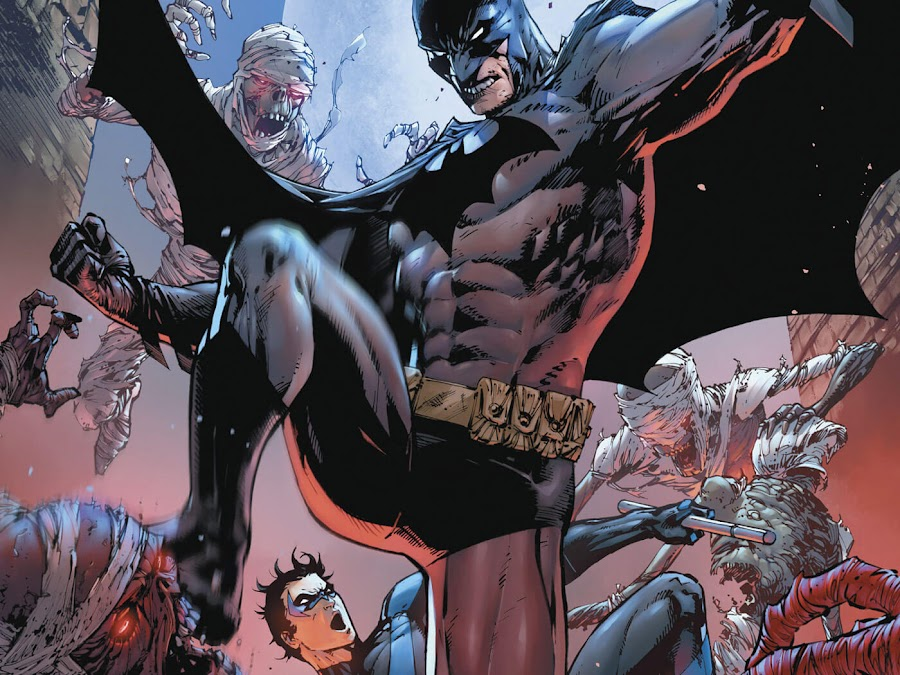 batman and nightwing dc rebirth tony daniel