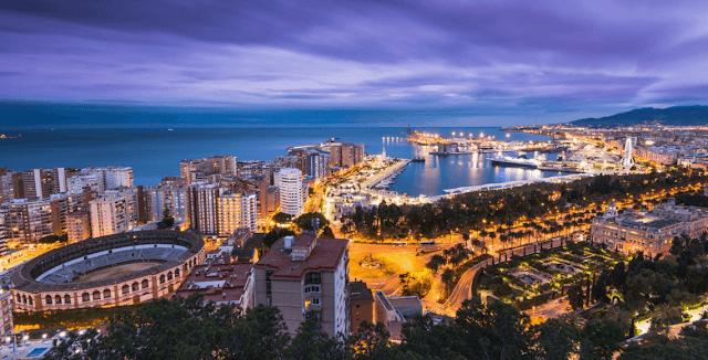 Alojamiento barato para vacaciones en Málaga
