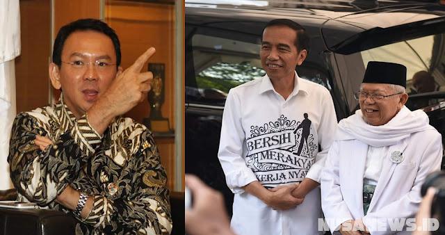 Dukungan Ahok Berpotensi Menurunkan Suara Umat Ke Jokowi