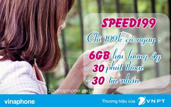 Đăng ký gói Speed199 Vinaphone