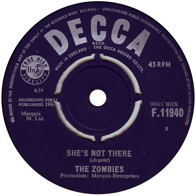The Zombies Shes Not There Road Runner