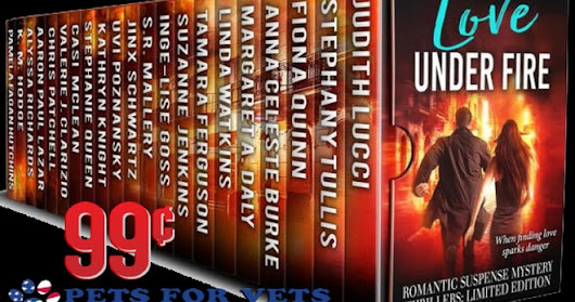 Love Under Fire is featured at the HBS Author's Spotlight Boxset Showcase