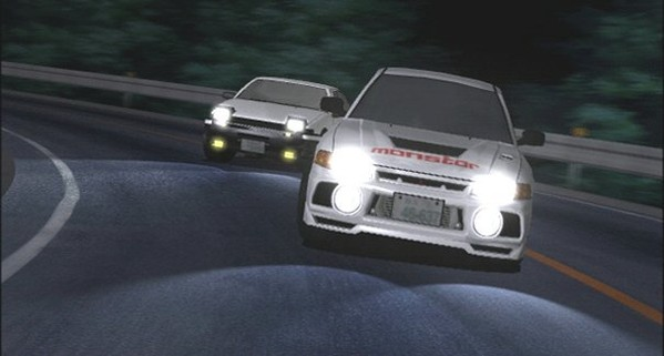 Initial D Second Stage BATCH Subtitle Indonesia