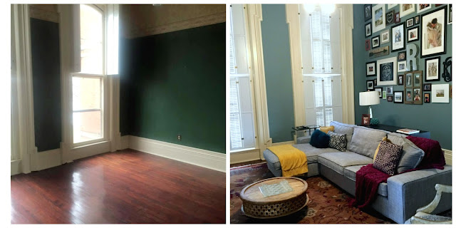 historic mansion rehab and remodeling project before and after