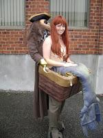 Pirata y sirena disfraz