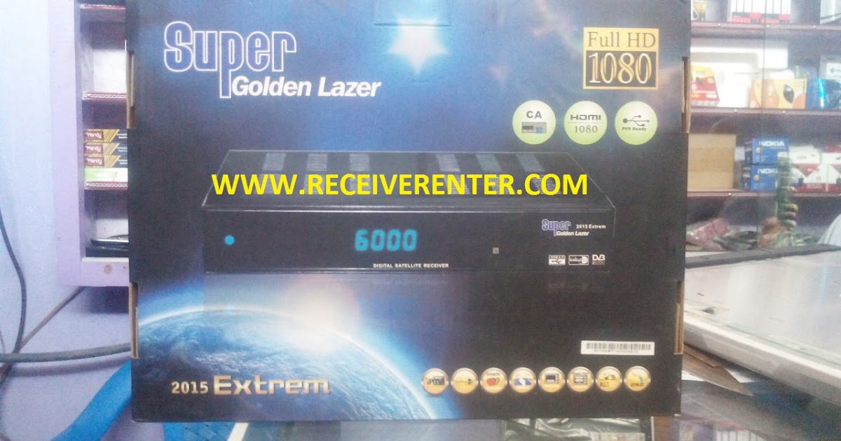 SUPER GOLDEN LAZER 2015 EXTREM HD- POWERVU OK ~ SKY-SATELLITE