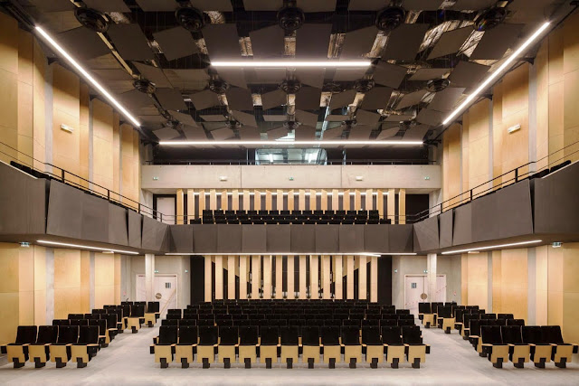 03. Auditorium Bondy, Bondy, Prancis oleh PARC Architectes