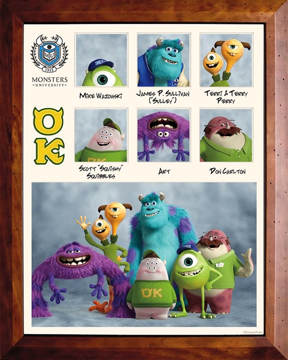 Monsters University Fraternity and Sorority