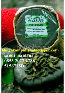 sabun herbal hawa teh hijau untuk mencerahkan kulit