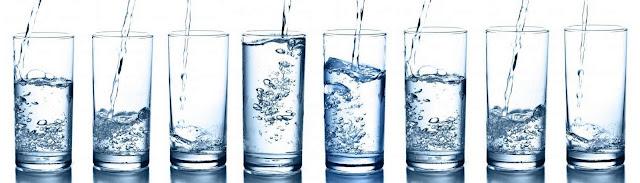 minum 8 gelas air putih untuk menurunkan berat badan