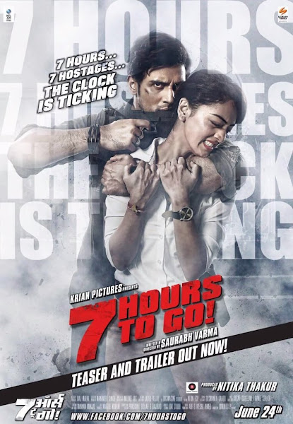 Poster of 7 Hours To Go 2016 480p Hindi pDvDRip Full Movie Download