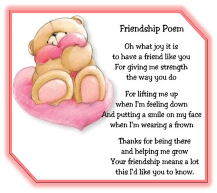Forever Friend Poems 7