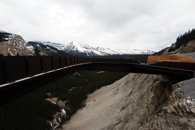 Glacier Skywalk, Jasper National Park, Alberta, Canada