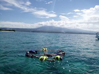 Snorkling Pulau Tabuhan Banyuwangi