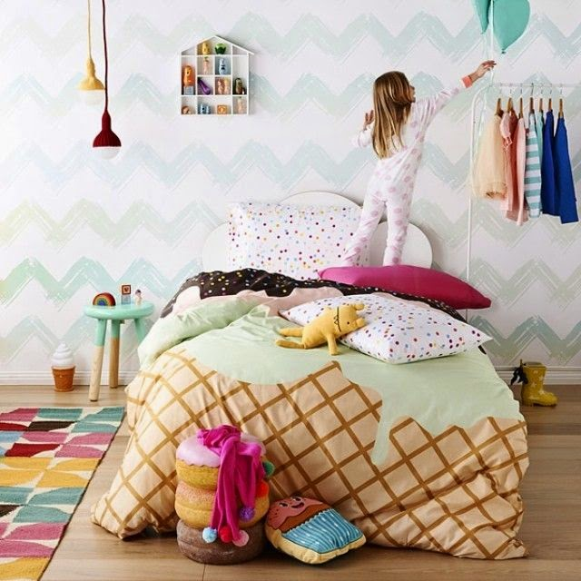 Eclectic Kids Rooms: The Boo And The Boy: Eclectic Kids' Rooms