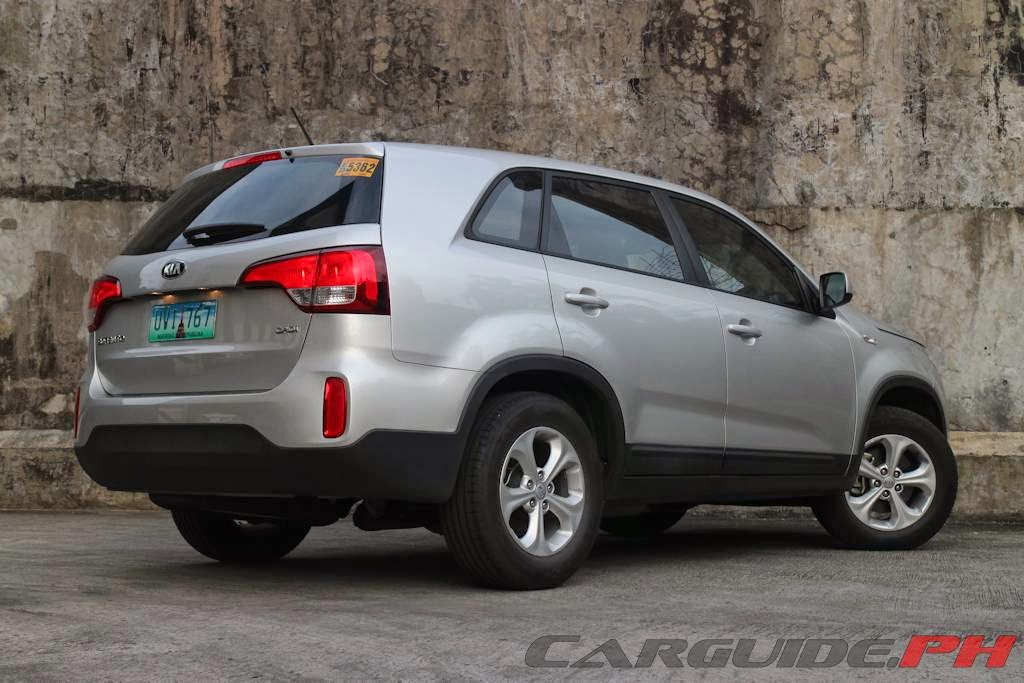 review 2014 kia sorento lx crdi 2wd 5 seater philippine. Black Bedroom Furniture Sets. Home Design Ideas