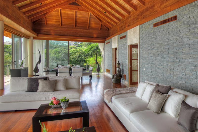 Living room in thai style