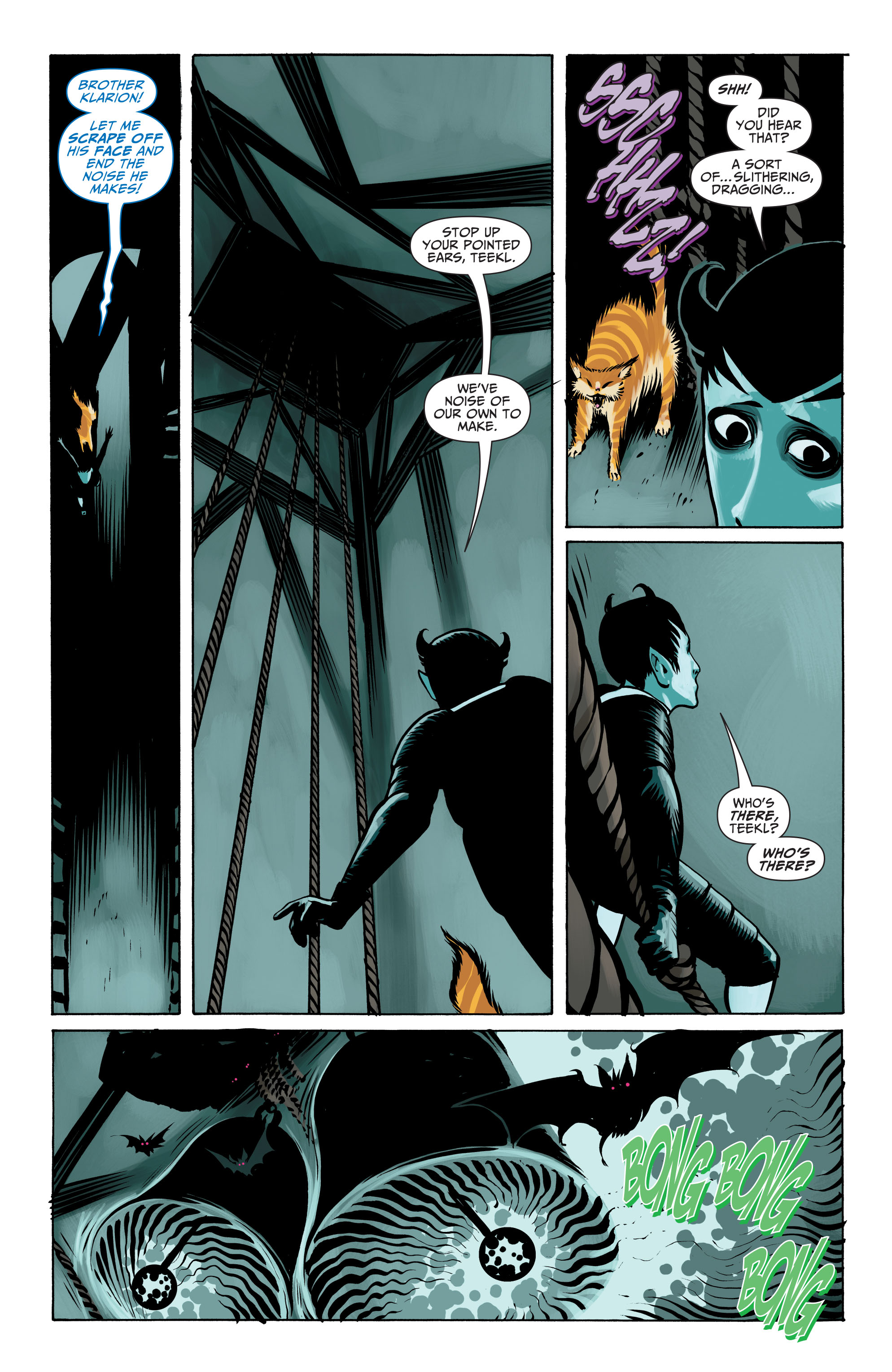 Read online Seven Soldiers: Klarion the Witch Boy comic -  Issue #4 - 9