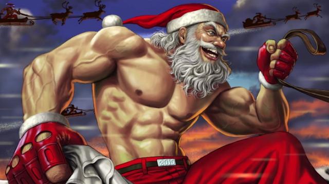 Santa Claus, Mutan Kuat yang Terdeteksi X-Men
