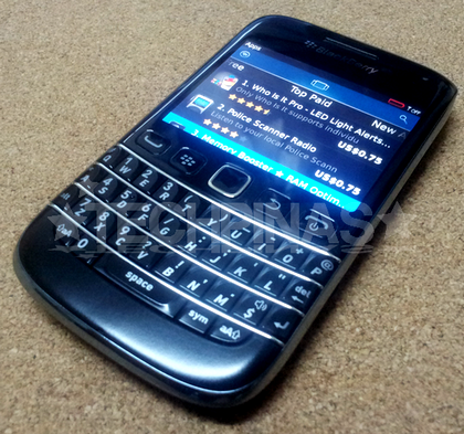 Buy Paid Applications from BlackBerry App World Using Globe Prepaid