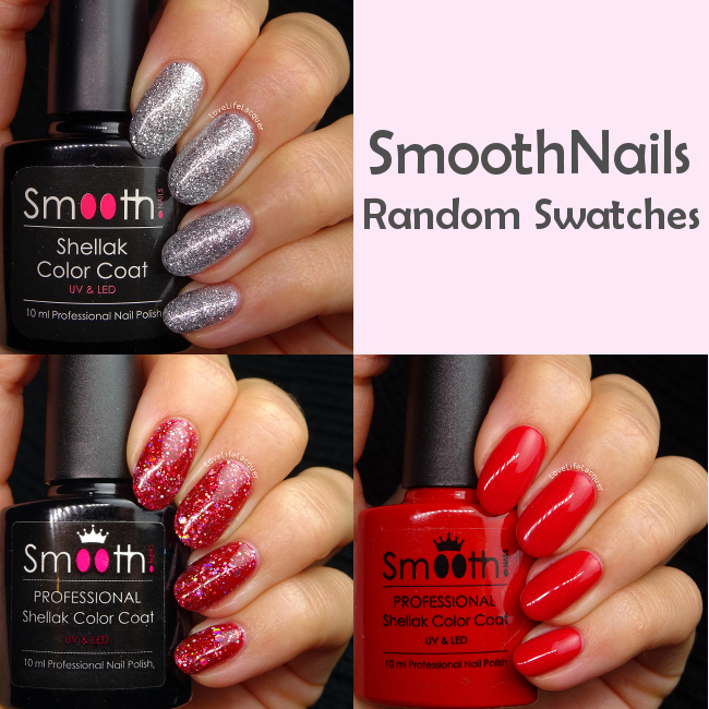 SmoothNails swatches