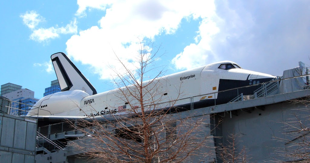 Space Shuttle Enterprise ~ Boarding Gate 101