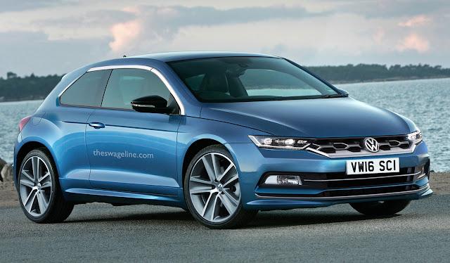 2017 Volkswagen Scirocco rendering