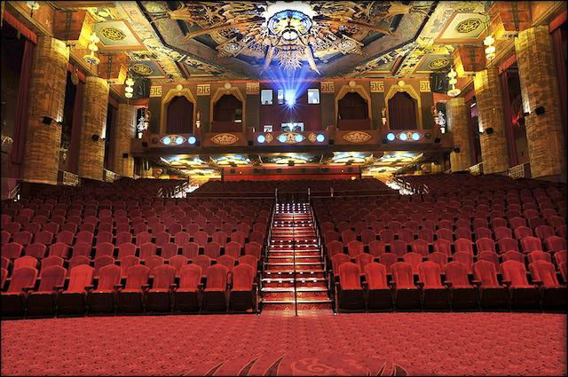 Los Angeles Theatres Graumans Chinese Recent Auditorium Views - Front of house theatre