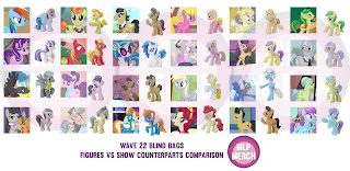 My Little Pony Wave 22 Blind Bags Character List