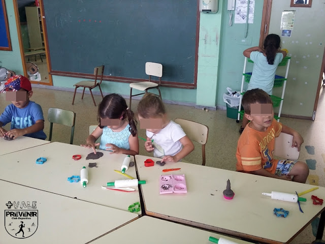 plastilina juego niños arucas
