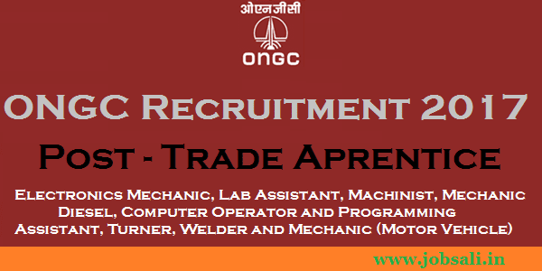 ONGC Careers, ONGC Apprentice jobs, Engineering jobs