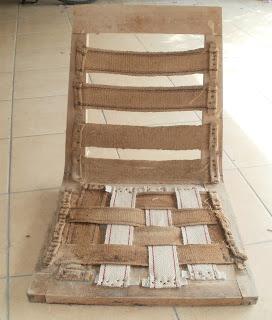 jak zrobić tapicerkę fotela