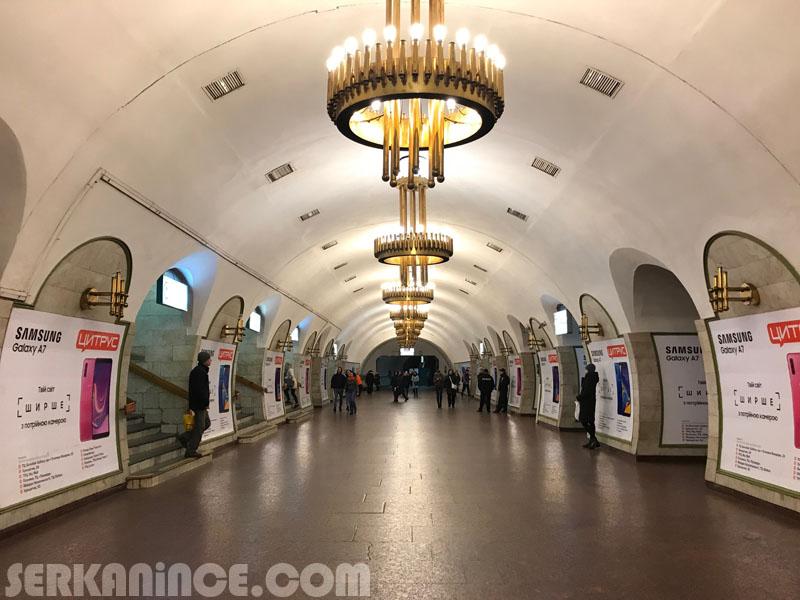 kiev ulaşım metro