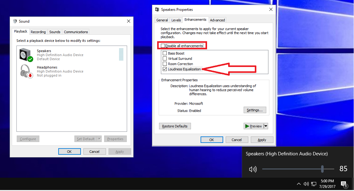 how to increase volume on laptop windows 10