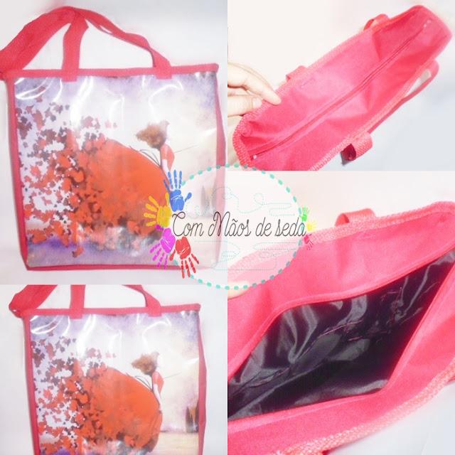 Bolsa vermelha - Pedido concluído