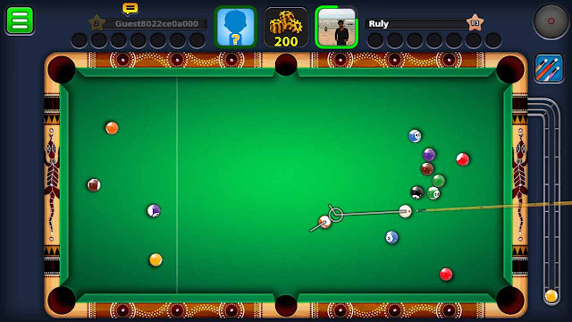 cara mudah cheat 8 ball pool android