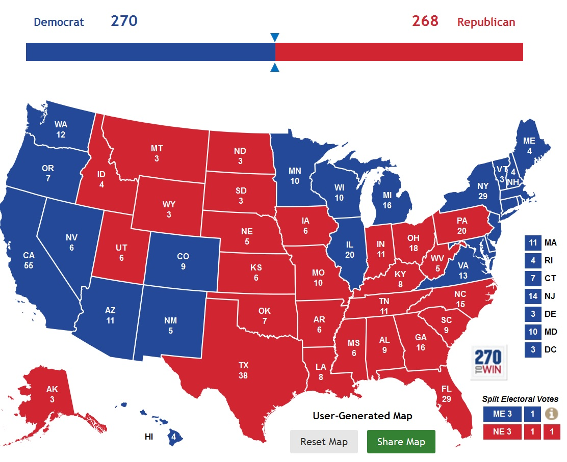 yes you re reading that right trump could succeed in his entire strategy of winning all four of florida north carolina pennsylvania and ohio
