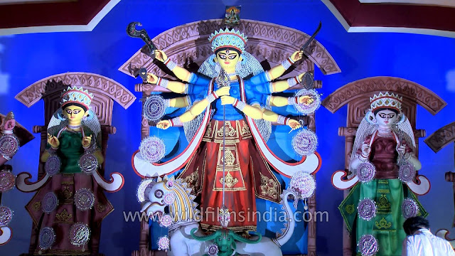 MAA DURGA PANDALS WALLPAPER