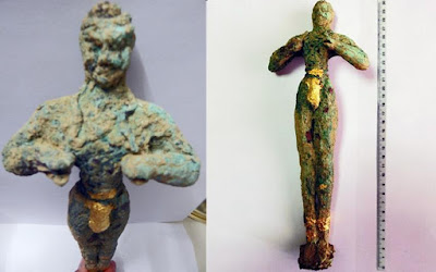 Looted Minoan-era kouros valued at 1.3 million euros