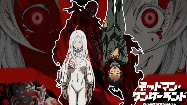 Tapeta z Deadman Wonderland od studia anime Manglobe